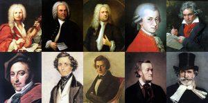 آهنگسازان بزرگ موسیقی کلاسیک