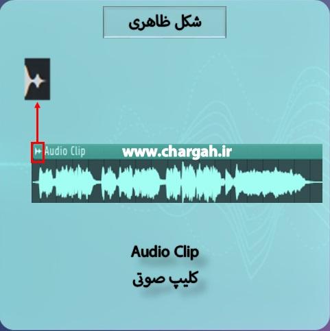 آموزش اف ال استودیو 20 - قسمت 8 - انواع کلیپ در پنجره ی پلی لیست شکل ظاهری کلیپ های صوتی
