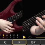 آکوردهای گیتار به صورت سه بعدی با اپلیکیشن – guitar 3D basic chords برای اندروید و ios