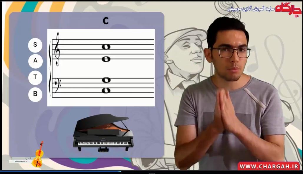 دوره ی آموزش هارمونی موسیقی به شکلی ساده و روان
