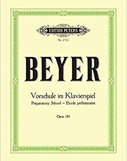 دانلود کتاب آموزش پیانو بیر نوشته ی فردیناند بیر (Ferdinand Beyer) یک متد عالی برای کسانی که می خواهند نوازندگی پیانو را یادبگیرند