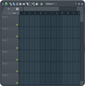 آموزش موسیقی نرم افزار اف ال استودیو (Fl studio) -درواقع پلی لیست همان بوم نقاشی ما است