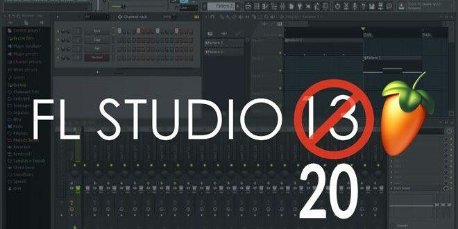 دانلود اف ال استودیو 20 - Fl studio 20 به همراه کرک - اف ال 20 نرم افزار آهنگسازی و تنظیم