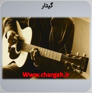 انواع سازها در موسیقی گیتار یک ساز غربی زهی زخمه ای