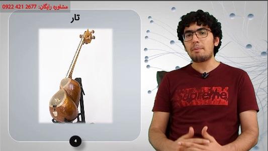 انواع سازها در موسیقی - دسته بندی سازها - قسمت 2 - بررسی سازهای زهی زخمه ای