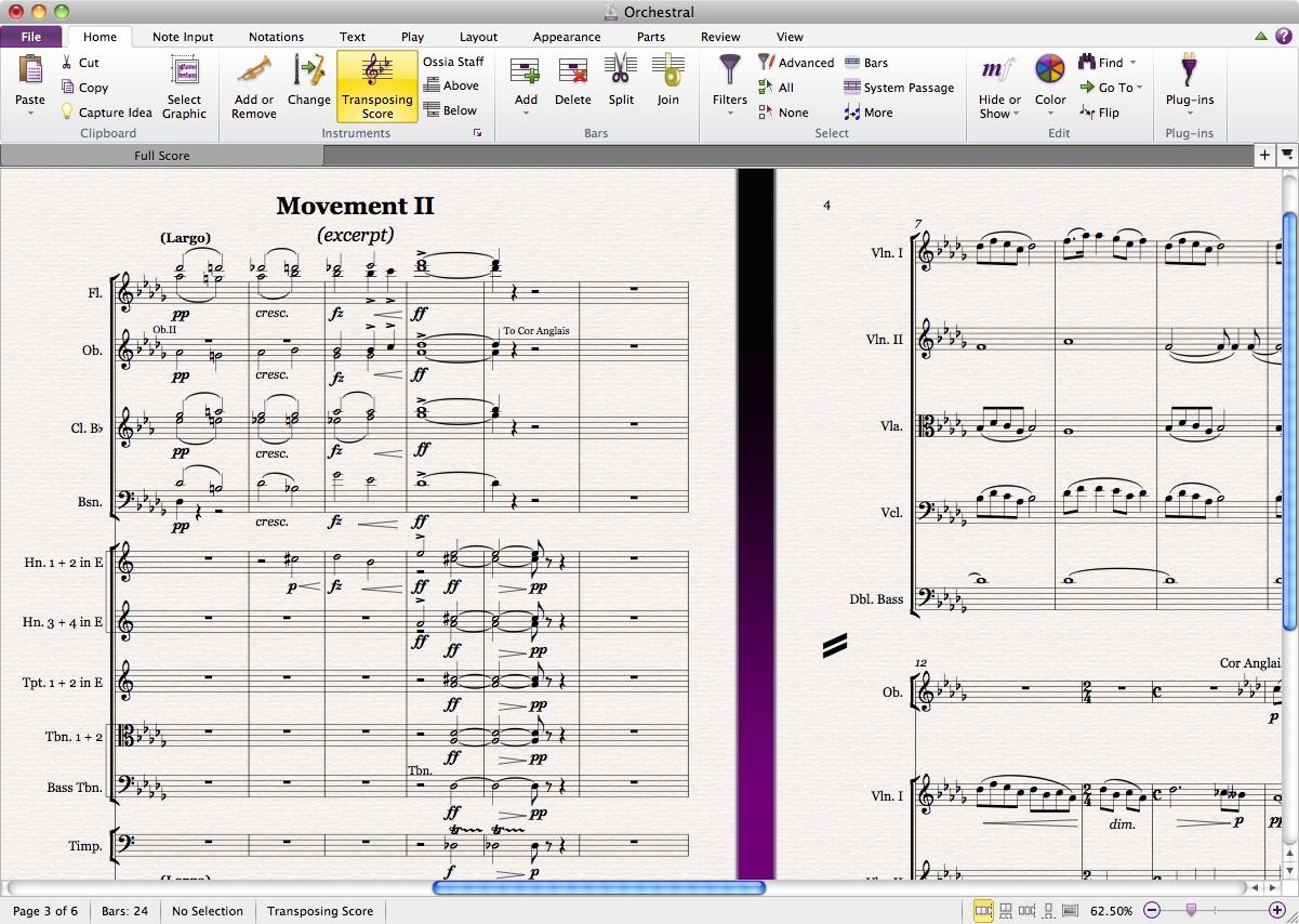 دانلود نرم افزار نت نویسی موسیقی سیبلیوس (Sibelius) نرم افزار نت نویسی و آهنگسازی