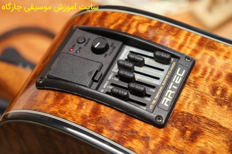 برخی از مدل های گیتار های آکوستیکی پیکاب دارند