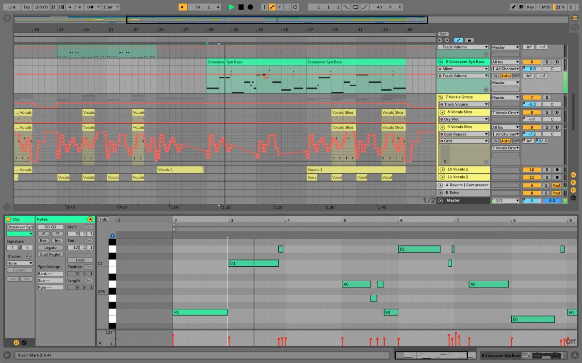 دانلود ابلتون لایو 10 ableton live به همراه دوره رایگان آموزش موسیقی