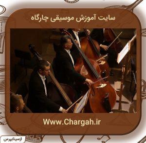 این سازهم جزو سازهای اصلی ارکستر زهی می باشد