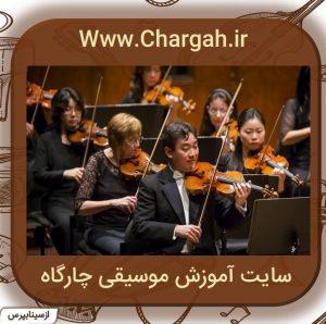 کوچکترین ساز گروه ارکستر زهی آرشه ای می باشد