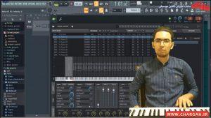 ساخت یک پاساژ پیانو با اف ال استودیو