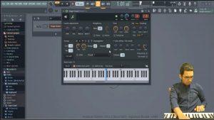 ساخت پاساژ پیانو با نرم افزار اف ال
